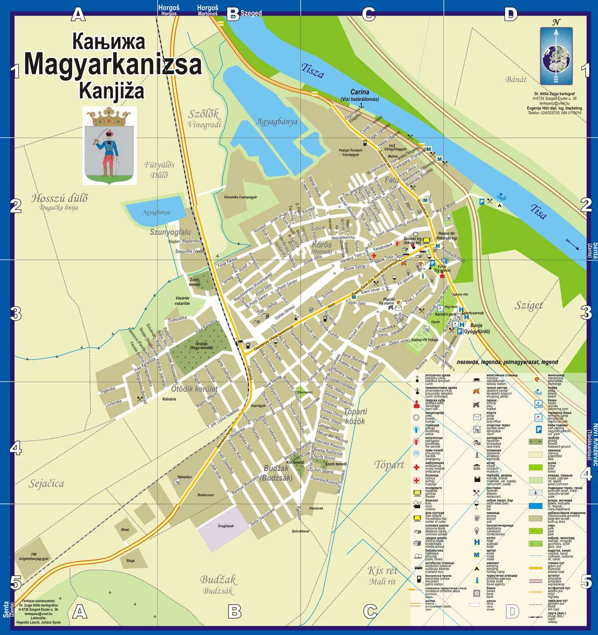 kanjiza mapa Mapa | Banja Kanjiža kanjiza mapa