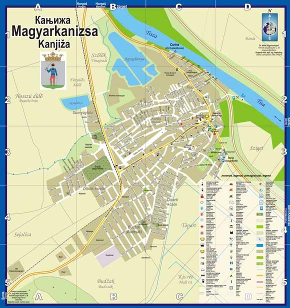 kanjiza-mapa-mala